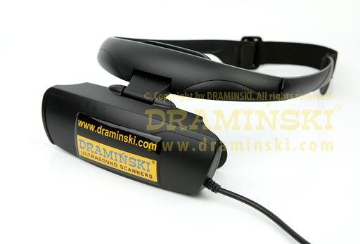Goggle for bovine ultrasound-scanner draminski 4vet mini, goggles for bovine/pigs/sheep examination, goggles for portable ultrasound scanners, imaging diagnosis