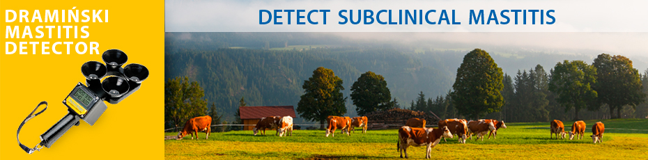 DRAMINSKI Mastitis - a practical device for detecting sub-clinical mastitis. Check out!