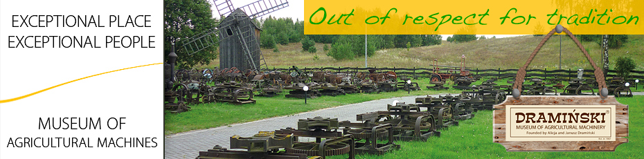 The agricultural machinery open-air ethnographic museum in Naterki is the effect of many years of passion for the history of Polish agriculture. Check out!