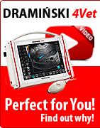 DRAMINSKI 4Vet - professional veterinary ultrasound scanner. Perfect for You! Find out why!