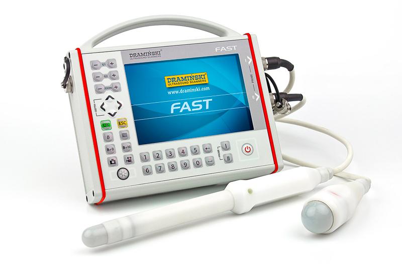 Ultrasound Scanner Draminski Fast For Emergency Medicine