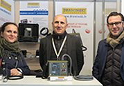 Cold weather did not prevent us from showing our products in France