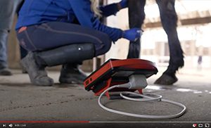 4Vet Slim – mobile ultrasound scanner to examine tendons and reproductive system in horses