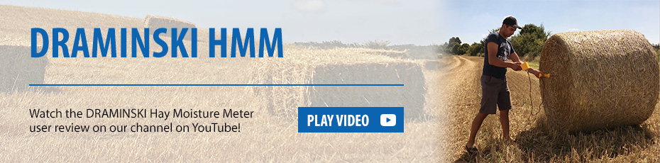 Watch the video with user review of Draminski Hay Moisture Meter
