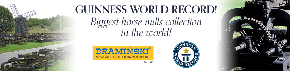 Biggest collection of horse mills in the world