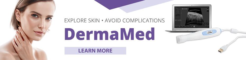 Ultrasound scanner for skin imaging dedicated to dermatologists