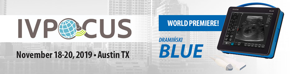 World premiere of the Dramiński BLUE ultrasound scanner