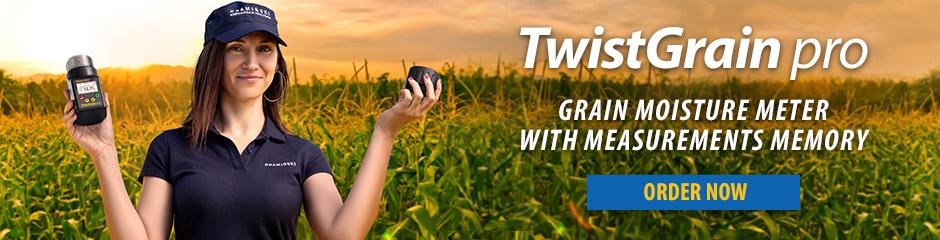 TwistGrain pro - the best moisture meter for harvest