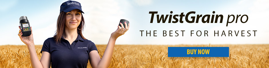 TwistGrain pro - the best moisture meter for harvest