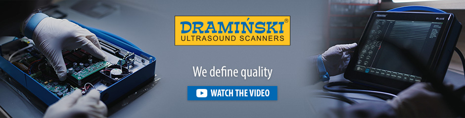 Dramiński is an independent european manufacturer of portable ultrasound scanners and electronic devices for agriculture